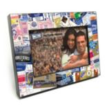 "Kansas City Royals Ticket Collage 4"" x 6"" Wooden Frame"