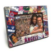"Los Angeles Angels of Anaheim Ticket Collage 4"" x 6"" Wooden Frame"
