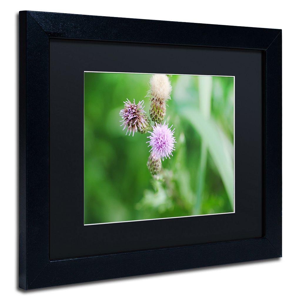 Trademark Fine Art Fearless Beauty Black Framed Wall Art