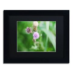 Trademark Fine Art Fearless Beauty Black Framed Wall Art