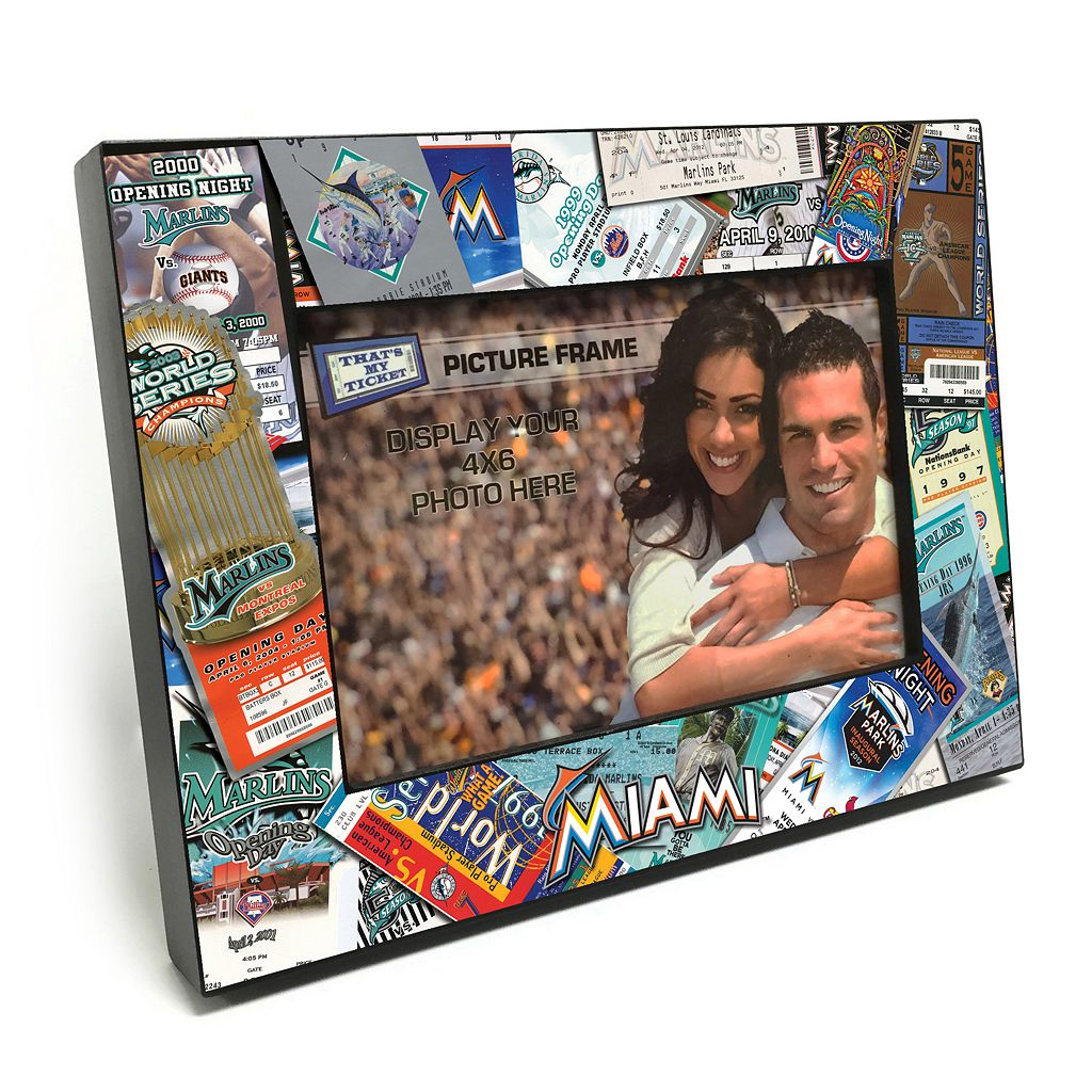 Miami Marlins Ticket Collage 4