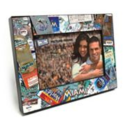 Miami Marlins Ticket Collage 4' x 6' Wooden Frame