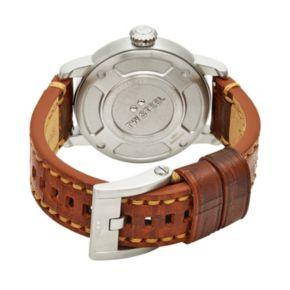 TW Steel Men's Maverick Leather Watch