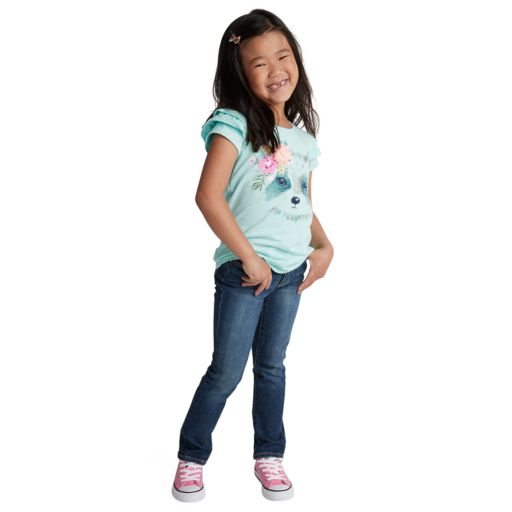 Girls 4-7 SONOMA Goods for Life™ Stretch Skinny Jeans