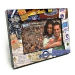 "Milwaukee Brewers Ticket Collage 4"" x 6"" Wooden Frame"