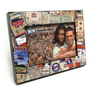 Minnesota Twins Ticket Collage 4' x 6' Wooden Frame
