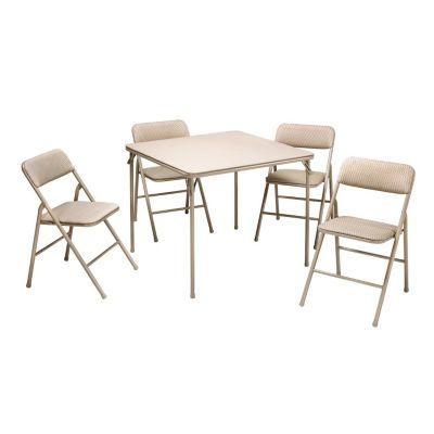 Cosco Folding Table & Chair 5-piece Set