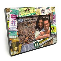 Oakland Athletics Ticket Collage 4