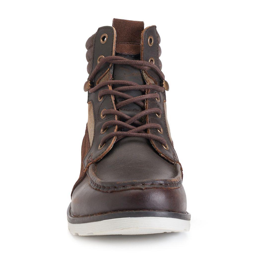 Crevo Bishop Men's Moc-Toe Boots
