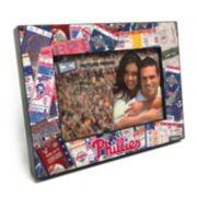 "Philadelphia Phillies Ticket Collage 4"" x 6"" Wooden Frame"
