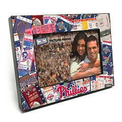 Philadelphia Phillies Ticket Collage 4' x 6' Wooden Frame