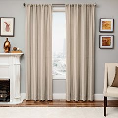 Softline 1-Panel Azure Mirror Window Curtain