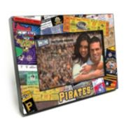 "Pittsburgh Pirates Ticket Collage 4"" x 6"" Wooden Frame"