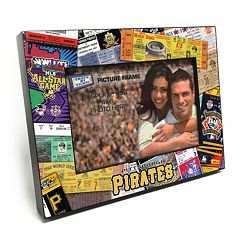 Pittsburgh Pirates Ticket Collage 4' x 6' Wooden Frame