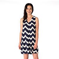 Women's Indication Pleated Swing Dress
