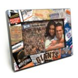 "San Francisco Giants Ticket Collage 4"" x 6"" Wooden Frame"