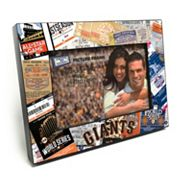 San Francisco Giants Ticket Collage 4' x 6' Wooden Frame
