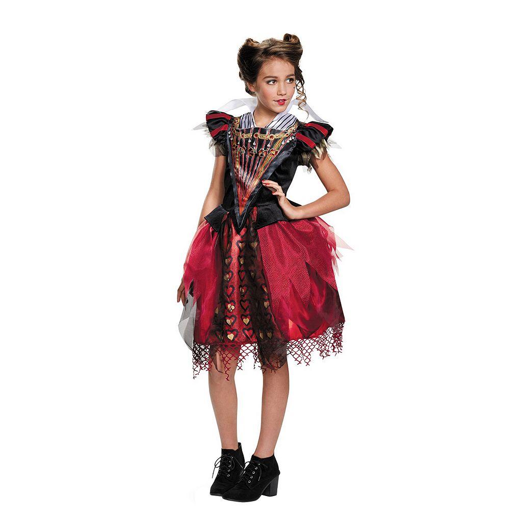 Disney's Alice Through The Looking Glass Red Queen Tween Costume