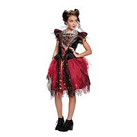 Disney's Alice Through The Looking Glass Red Queen Tween Costume