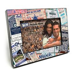 Seattle Mariners Ticket Collage 4' x 6' Wooden Frame
