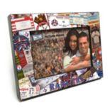 "Texas Rangers Ticket Collage 4"" x 6"" Wooden Frame"