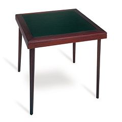 Cosco 32-inch Square Wood Folding Table