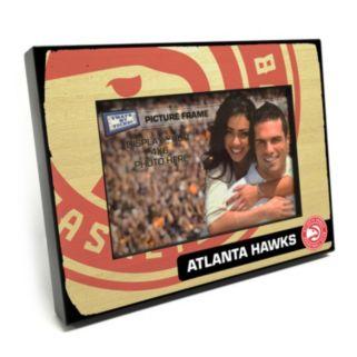 "Atlanta Hawks 4"" x 6"" Wooden Frame"