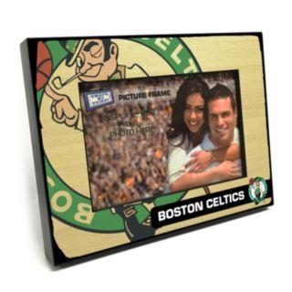 "Boston Celtics 4"" x 6"" Wooden Frame"