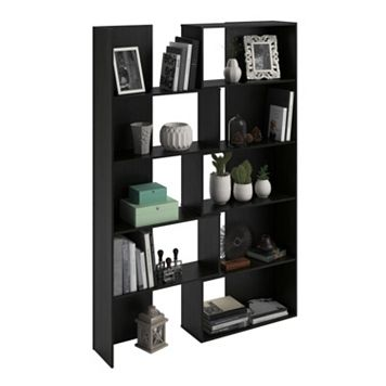 Altra Transform Black Expandable Bookshelf