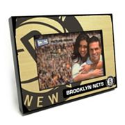 Brooklyn Nets 4' x 6' Wooden Frame