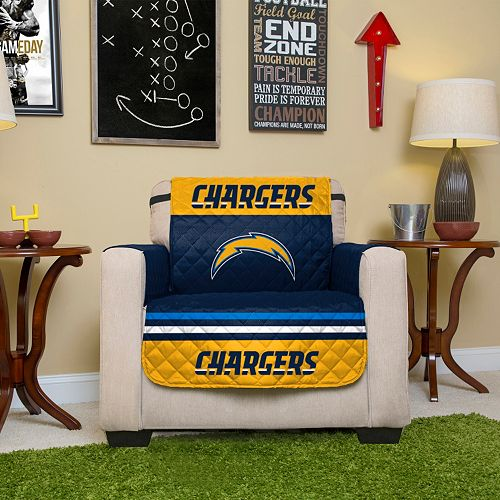 San DiegoChargers Quilted Chair Cover