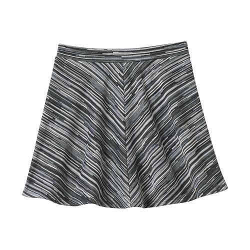 Girls 7-16 Joey B Textured Skater Skirt