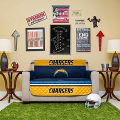 San DiegoChargers Quilted Loveseat Cover