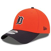 Adult New Era Detroit Tigers 39THIRTY 2Tone Patched Flex-Fit Cap