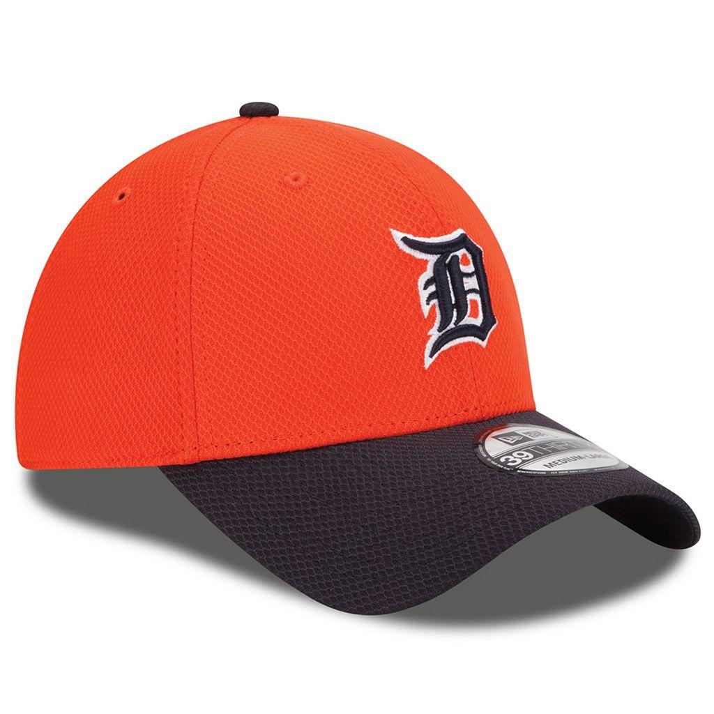 Adult New Era Detroit Tigers 39THIRTY 2Tone Patched Flex-Fit Cap