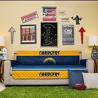 San DiegoChargers Quilted Sofa Cover