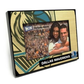 "Dallas Mavericks 4"" x 6"" Wooden Frame"