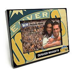 Denver Nuggets 4' x 6' Wooden Frame