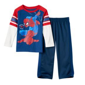 Toddler Boy Marvel Spider-Man Knit Tee & Pants Set