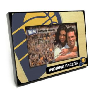 """Indiana Pacers 4"""" x 6"""" Wooden Frame"""