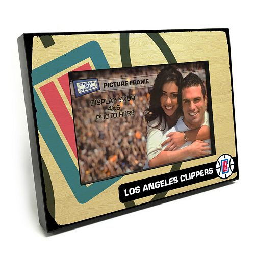 "Los Angeles Clippers 4"" x 6"" Wooden Frame"