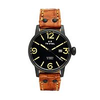 TW Steel Men's Maverick Leather Automatic Watch
