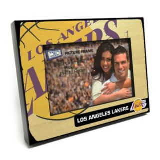 """Los Angeles Lakers 4"""" x 6"""" Wooden Frame"""
