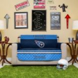 Tennessee Titans Quilted Loveseat Cover