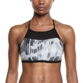 Women's Nike Electrify High-Neck Bikini Top