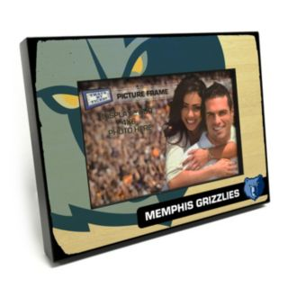 """Memphis Grizzlies 4"""" x 6"""" Wooden Frame"""