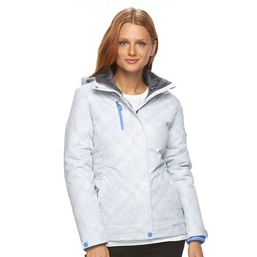 Women's Free Country Hooded Plaid Systems Jacket