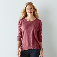 Women's SONOMA Goods for Life™ French Terry Dolman Top