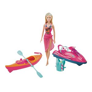 Barbie On-The-Go Watercraft & Kayak Set