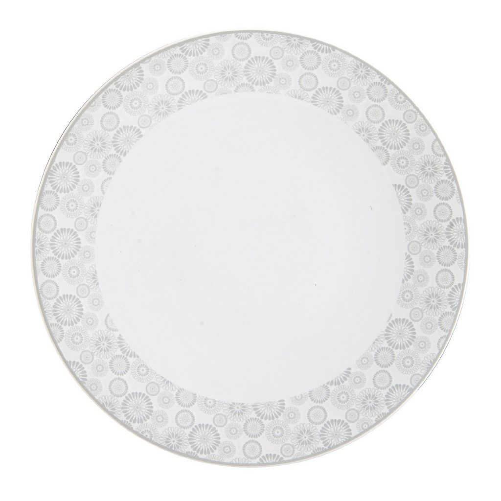 Mikasa Avery Floral 10.75-in. Dinner Plate